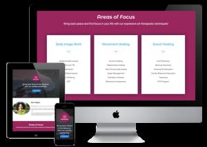 San Antonio Design ASAEXPRESSIVE Case Study Landing Page Design