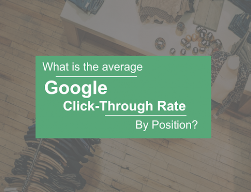 What is the Average Google Click-Through Rate by Position
