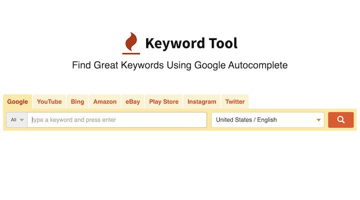 Keyword Tool Best Google Keyword Search Tool