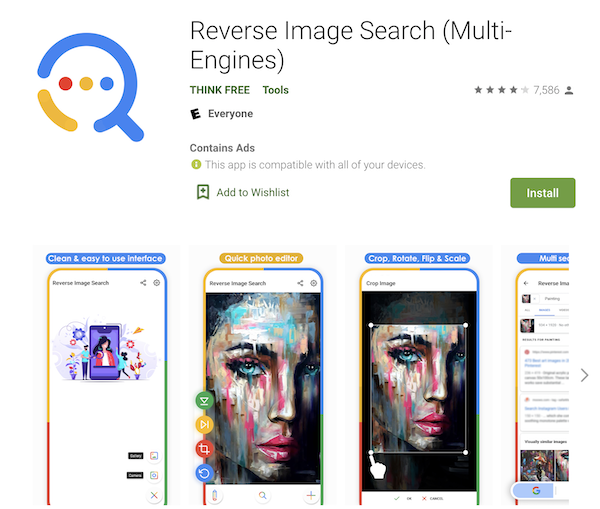 google reverse image search app reverse image search compared